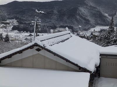 2月4日「雪模様」