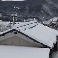 写真: 2月4日「雪模様」