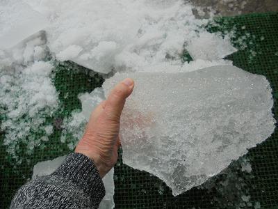 2月21日「氷塊」