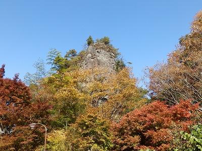 11月9日「古岩屋の紅葉」