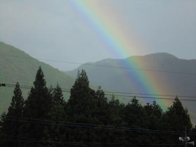 9月8日「虹」