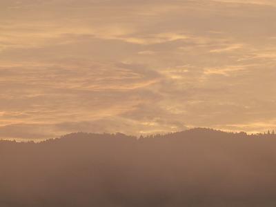 10月17日「朝焼け」