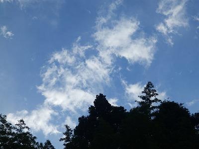 8月2日「空と雲」