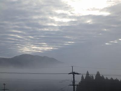2月8日「スリット雲」