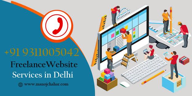 Best Freelance Website Designer in Delhi