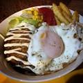 写真: てりマヨハンバーグ丼