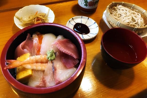 チラシ寿司ランチ