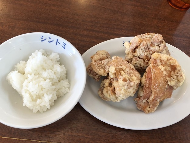 Photos: から揚げセット