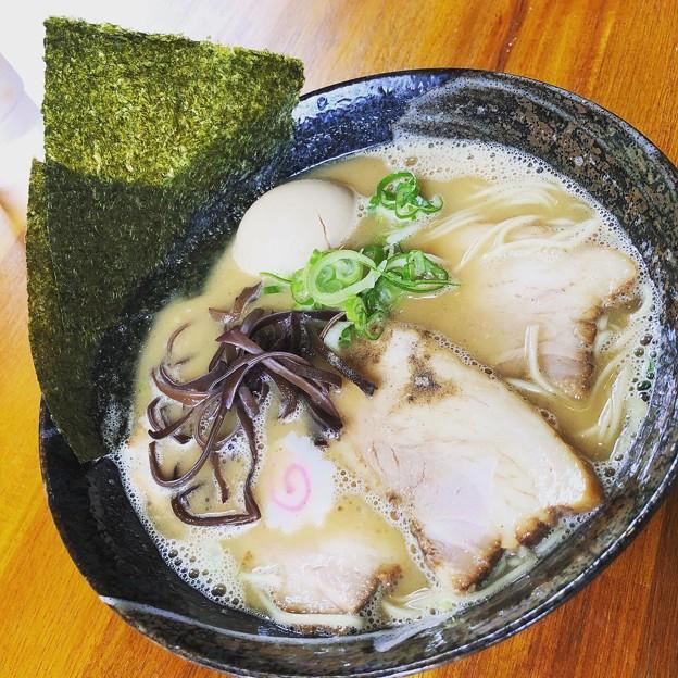 特製魚介白湯