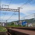 写真: 電車、来てくれ~