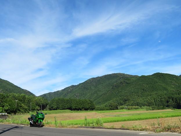 緑繋がりぃ ~山、田んぼ、単車~