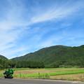 写真: 緑繋がりぃ ~山、田んぼ、単車~