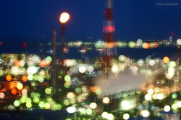 写真: 夜は華やか♪