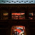 Photos: 讃岐路の紅葉~大窪神社山門  ♪