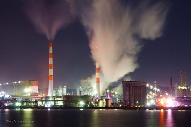 坂出工場夜景
