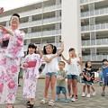 閖上で7年ぶり盆踊り大会 伝統のまんじゅう焼きも