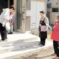 被災者集団移転先 戸別訪問、つながり保つ 高齢者孤立防止へ住民組織がボランティア