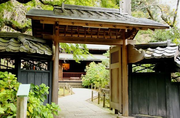 IMG_1318 東慶寺の本堂の門