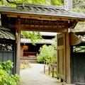 Photos: IMG_1318 東慶寺の本堂の門