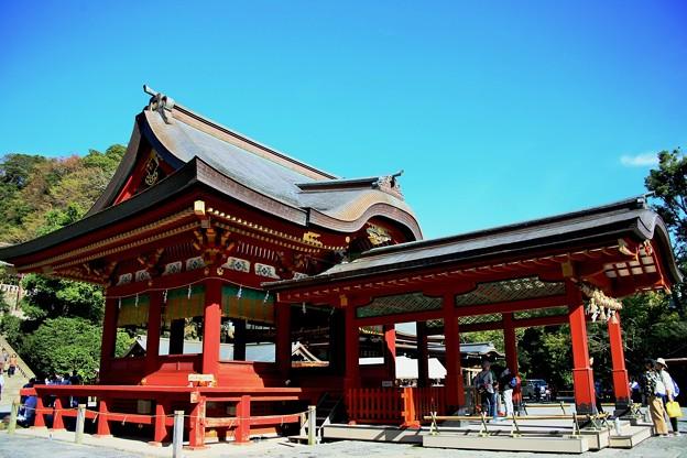 IMG_2254 鶴岡八幡宮・舞殿