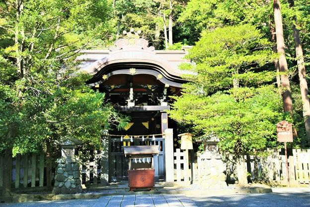 IMG_2262 鶴岡八幡宮・白旗(白幡)神社-1