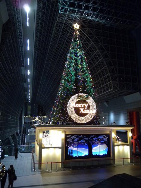 Photos: 2010'京都駅のクリスマスツリー                 (山下達郎の「クリスマスイブ」のイメージ)