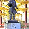 DSCN0702 三峰山博物館前の銅像