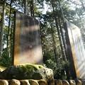 DSCN7745 参道に並んだ奉納石碑