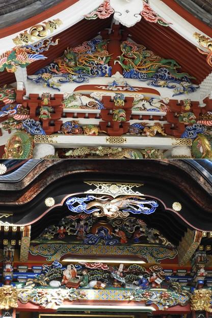 DSCN7889 三峯神社・手水舎の装飾