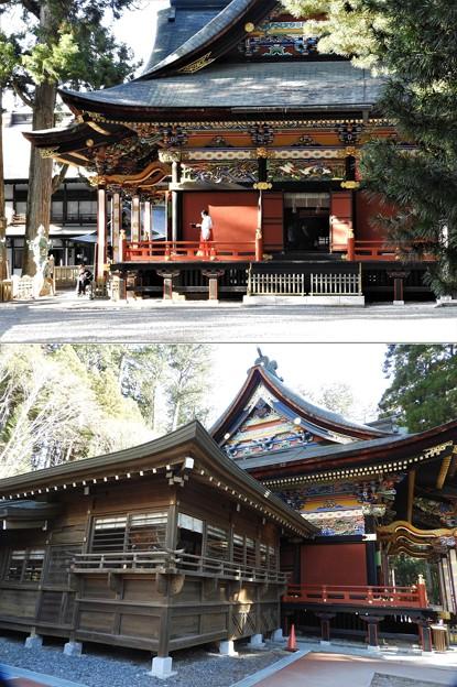 DSCN8049 三峯神社・拝殿-2