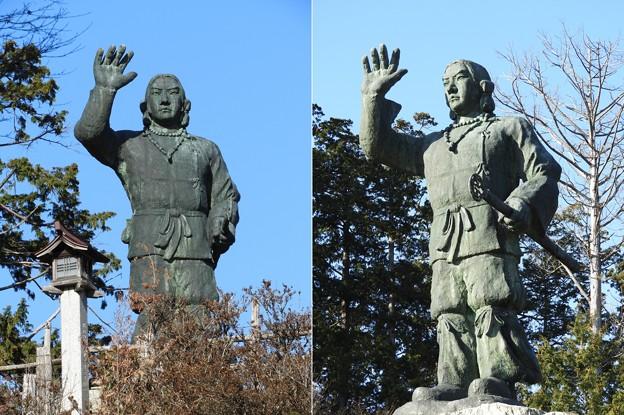 DSCN7833 日本武尊銅像(晴天の日)
