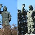 Photos: DSCN7833 日本武尊銅像(晴天の日)
