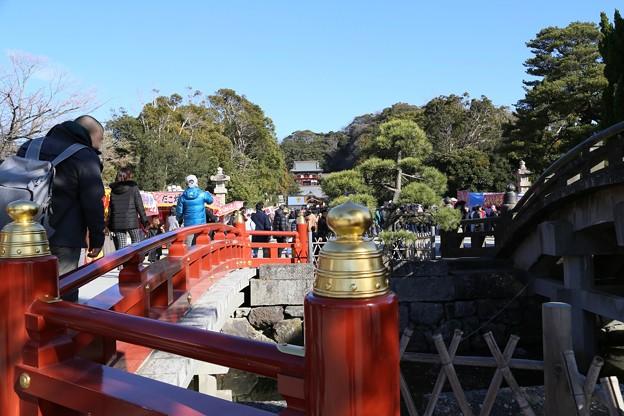 IMG_7349 令和2年新春鶴岡八幡宮参詣風景