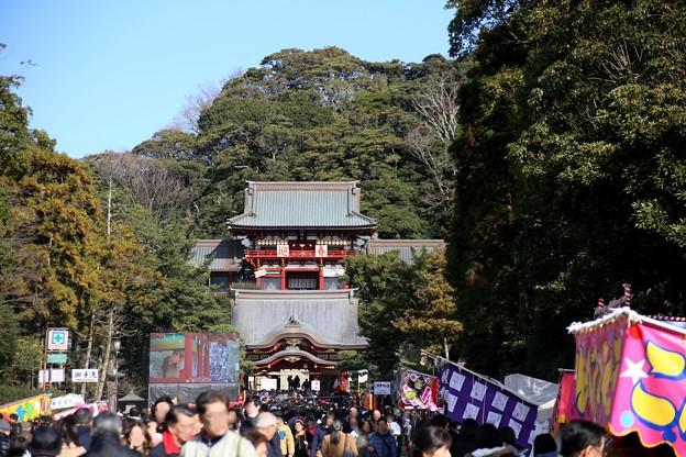 IMG_7601 令和2年新春鶴岡八幡宮参詣風景