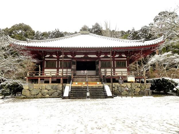 DSCN2669 醍醐寺・大講堂(テーマタグ:雪景色)