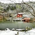 DSCN2675  醍醐寺・弁天堂-1(テーマタグ:雪景色)