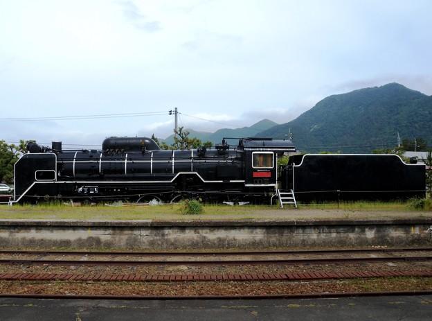 旧大社駅SL(テーマタグ:鉄道)※画像左右反転