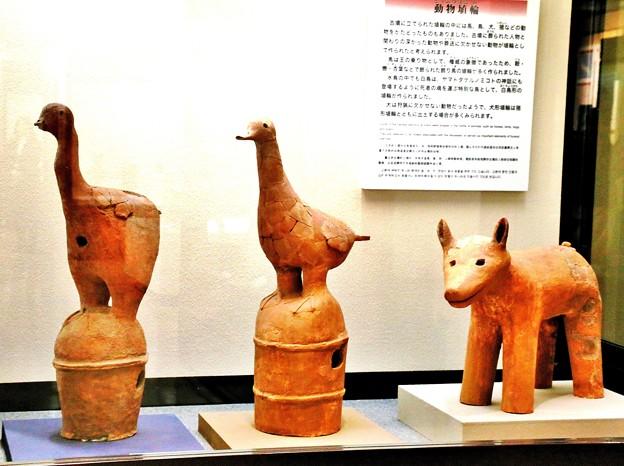 動物埴輪(テーマタグ:アートフォト)
