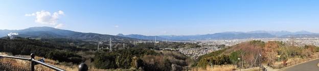 諏訪の原公園からの眺め