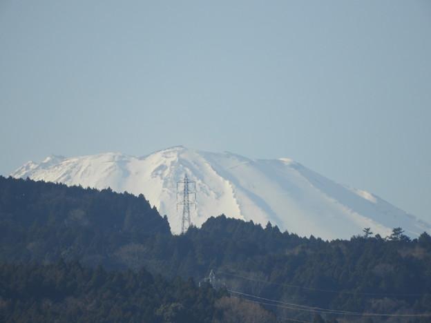 ちょっとだけよ!富士山・公園からの富士山(望遠1000mm相当)