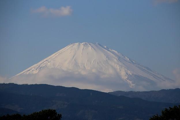 更に拡大富士山(コントラスト強め)
