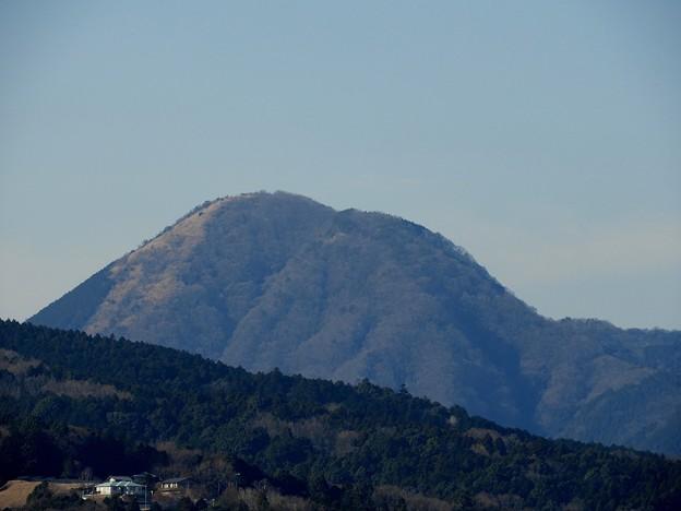 矢倉岳のアップ