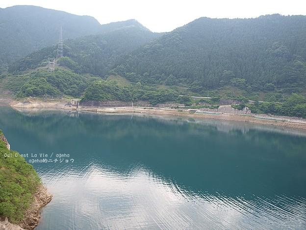 問題無い時期はこんな感じ。(判りづらい)浦山ダム貯水率
