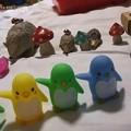 Photos: 甥っ子の宝物を並べてみる。(信州)