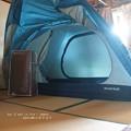 Photos: 家でテント張るなっつーの。