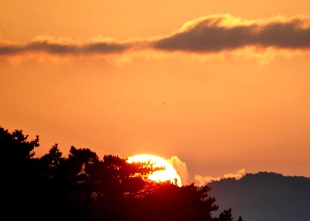 夕陽がしずむ~