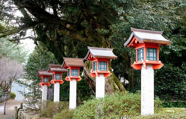 常宮神社灯篭