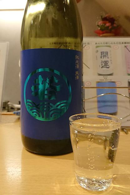 【日本酒:福岡】 若波 純米酒 生酒