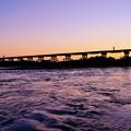 写真: 流れ橋