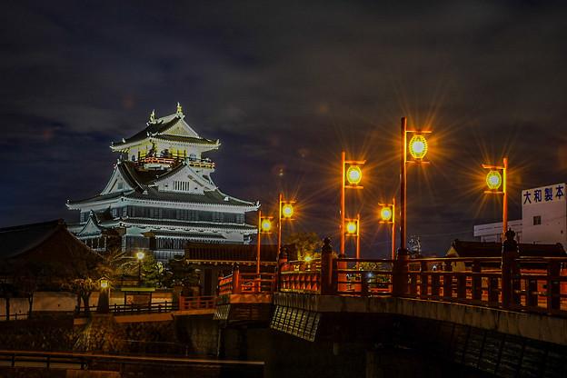 清洲城夜景